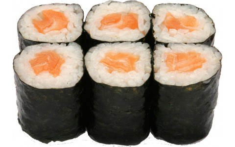 Хосомаки лосось